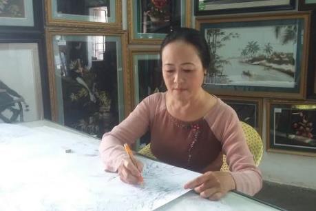 """Người đưa tranh thêu Việt Nam lọt """"Top 100 thương hiệu nổi tiếng ASEAN"""""""