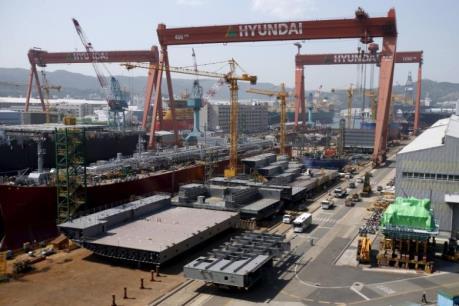 Hàn Quốc: Tái cơ cấu các hãng đóng tàu, hàng chục nghìn việc làm bị ảnh hưởng