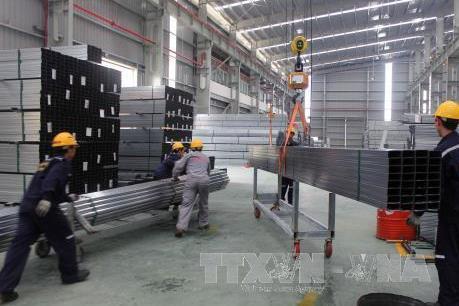 Áp dụng biện pháp chống bán phá giá tạm thời sản phẩm thép mạ nhập khẩu vào Việt Nam