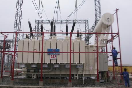 Công ty Truyền tải Điện 1 phản hồi về sự cố tràn dầu ở Trạm biến áp 220 KV Vĩnh Yên
