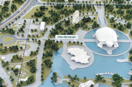Động thổ xây dựng Công viên Kim Quy tại Hà Nội