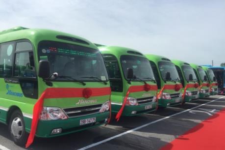 Lộ trình hai tuyến buýt kết nối các khu đô thị tại Hà Nội