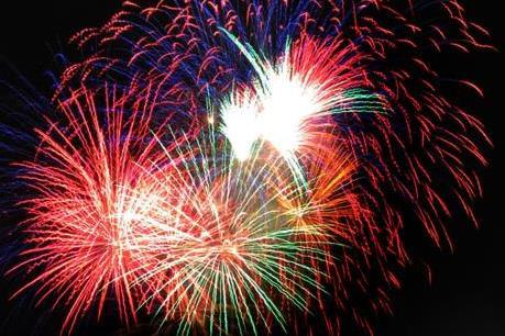 Bắn pháo hoa mừng ngày Quốc Khánh 2/9 tại Tp. Hồ Chí Minh