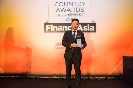 SSI nhận giải Nhà môi giới tốt nhất Việt Nam do Finance Asia trao tặng