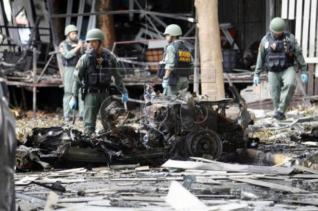 Bắt giữ nghi can đầu tiên liên quan loạt vụ đánh bom ở miền Nam Thái Lan