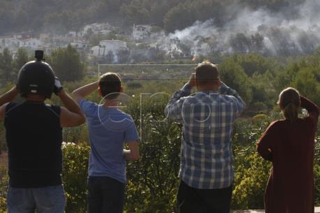 Tây Ban Nha: Hỏa hoạn tại khu du lịch khiến hơn 1.000 người phải sơ tán