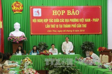 Hội nghị hợp tác các địa phương Việt Nam - Pháp: Biến đổi khí hậu là chuyên đề đặc biệt
