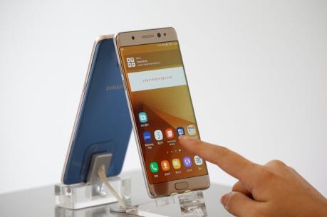 Samsung thu hồi 51.000 chiếc điện thoại Galaxy Note7 tại thị trường Australia