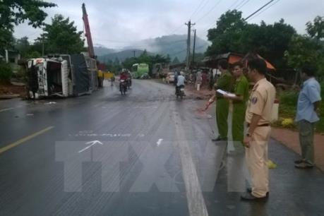 Lâm Đồng: Liên tiếp xảy ra tai nạn giao thông trên quốc lộ 20