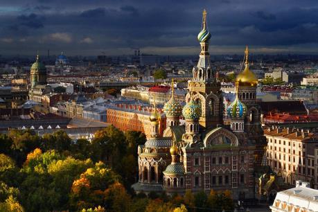 Saint-Peterburg: Điểm đến hàng đầu châu Âu năm 2016