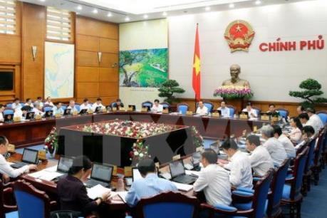 Nghị quyết phiên họp Chính phủ thường kỳ tháng 8/2016