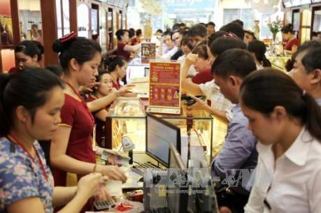 Giá vàng trong nước ngày 7/9 tăng hơn 200.000 đồng/lượng