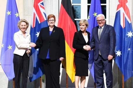 Australia-Đức kêu gọi giải quyết hoà bình các tranh chấp ở Biển Đông