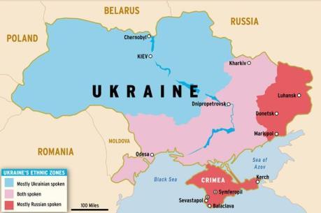 Nga đóng cửa thị trường là cú sốc kinh tế đối với Ukraine