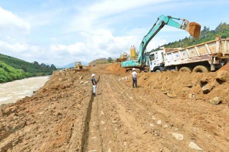 Lâm Đồng đình chỉ thi công công trình thủy điện Đại Bình