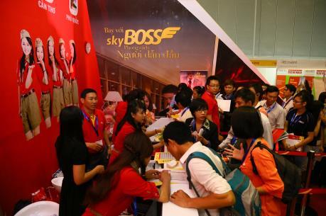 Vietjet tham gia Hội chợ quốc tế Du lịch Tp. Hồ Chí Minh