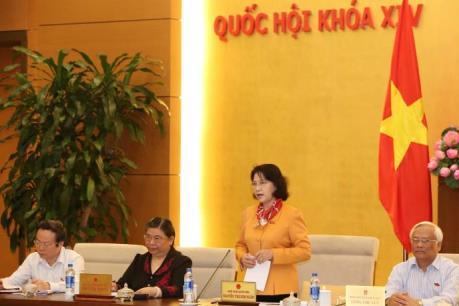 Ngày 12/9, bắt đầu phiên họp thứ 3 của Ủy ban Thường vụ Quốc hội khóa XIV