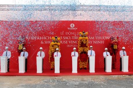 Khởi công dự án khách sạn 5 sao và Trung tâm thương mại Vincom Tây Ninh