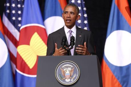 """Tổng thống Mỹ: Phán quyết về Biển Đông mang tính """"ràng buộc"""""""