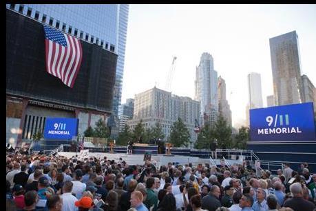 Nước Mỹ tưởng niệm 15 năm sau vụ khủng bố kinh hoàng ngày 11/9