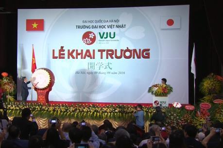 Trường Đại học Việt Nhật – Đại học Quốc gia Hà Nội khai giảng khóa học đầu tiên