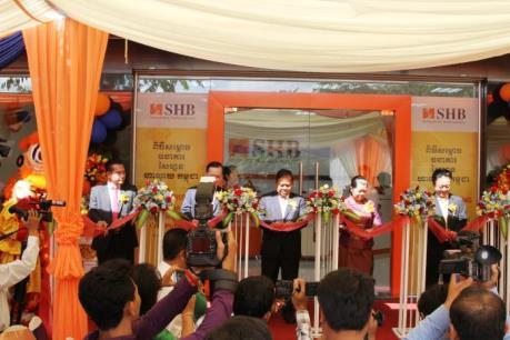 Khai trương Ngân hàng SHB tại Campuchia