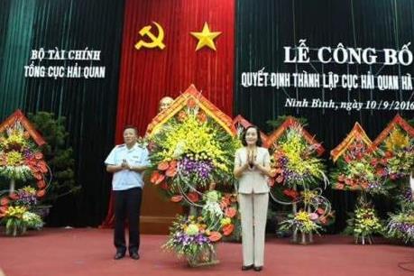 Thành lập Cục Hải quan Hà Nam Ninh