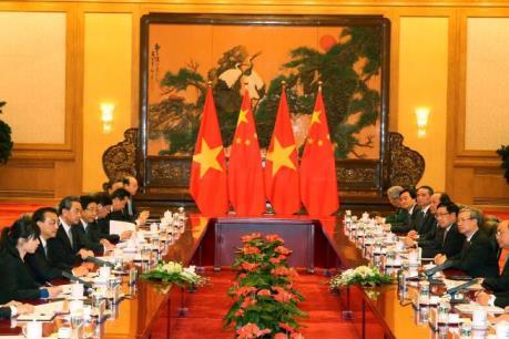 Thủ tướng Nguyễn Xuân Phúc hội đàm với Thủ tướng Quốc vụ viện Trung Quốc Lý Khắc Cường