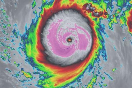 Dự báo thời tiết: Xuất hiện siêu bão Meranti gần Biển Đông