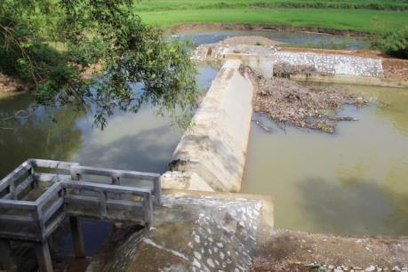 Kiểm tra toàn diện chất lượng công trình đập Tân Hợp - Thái Nguyên