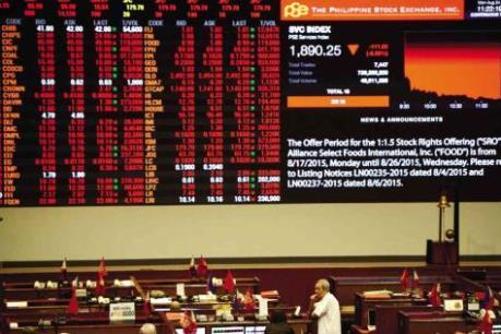 Sắc đỏ phủ ngập thị trường chứng khoán châu Á