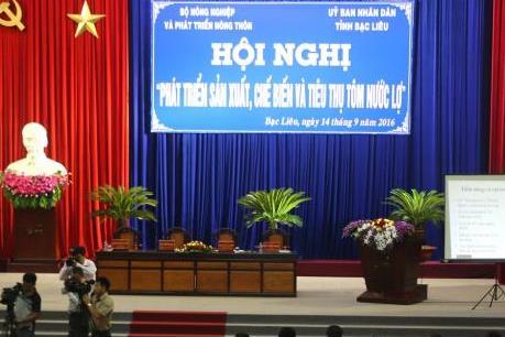 Xây dựng tôm Việt Nam trở thành thương hiệu quốc gia