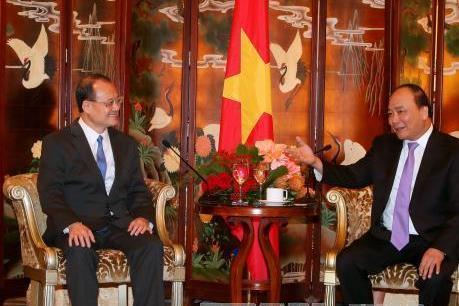 Thủ tướng Nguyễn Xuân Phúc tiếp các tập đoàn, doanh nghiệp tại Hong Kong