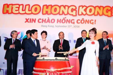 Vietjet Air khai trương đường bay Thành phố Hồ Chí Minh – Hong Kong