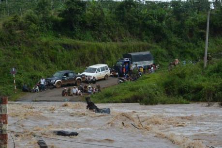 Bão số 4 và mưa, lũ làm chết và mất tích 17 người