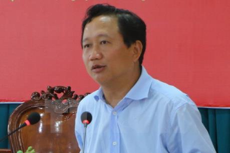 Công bố quyết định kỷ luật khai trừ ra khỏi Đảng đối với ông Trịnh Xuân Thanh