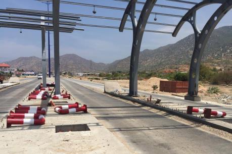 Xây dựng trạm thu phí BOT tại Ninh Thuận: Người dân chưa đồng thuận cho thi công
