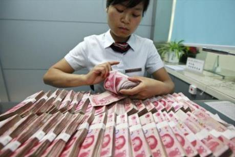 Trung Quốc: Lượng tiền ngân hàng cho vay tăng mạnh