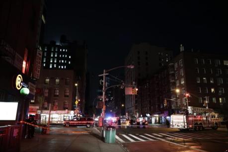 Vụ nổ tại trung tâm New York: 25 người bị thương