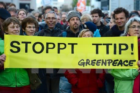 """Người dân Đức không """"mặn mà"""" với TTIP"""