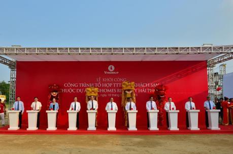Thủ tướng tham dự Lễ khởi công tòa tháp cao nhất duyên hải Bắc Bộ