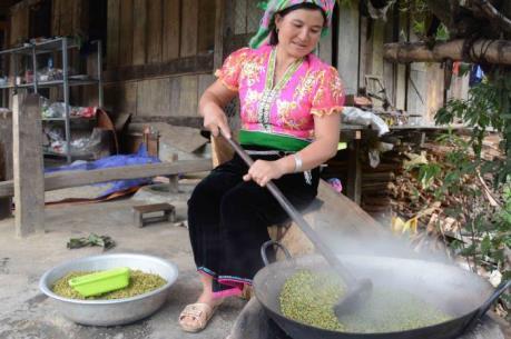 Du lịch Việt Nam: Ngọt ngào hương cốm nơi rẻo cao