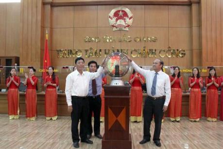 Trung tâm Hành chính công tỉnh Bắc Giang đi vào hoạt động