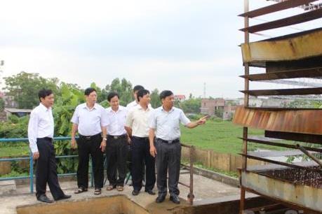 Bắc Giang đẩy nhanh tiến độ các công trình cấp nước sạch nông thôn