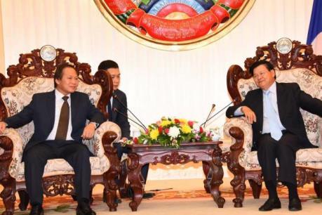 Lào muốn tăng cường hợp tác với Việt Nam trong lĩnh vực an ninh mạng