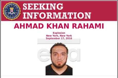 Vụ nổ tại trung tâm New York (Mỹ): Cảnh sát đăng ảnh truy tìm nghi can