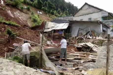 Sạt lở đất gây sập nhà ở thành phố Đà Lạt, Lâm Đồng