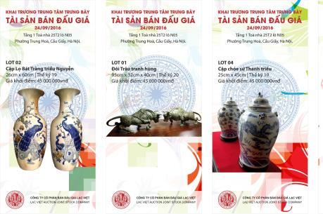 Sẽ có trung tâm trưng bày, đấu giá tác phẩm nghệ thuật đầu tiên tại Việt Nam