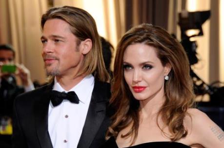 Angelina Jolie đâm đơn ly hôn Brad Pitt