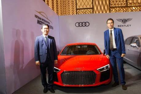Audi giới thiệu nhiều mẫu xe dẫn động Quattro tại VIMS 2016
